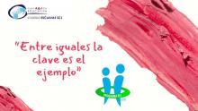 Gema Igual la alcaldesa de Santander visita el colegio Esclavas