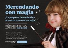 el comedor del cole os invita a un espectáculo de magia