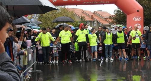 carrera solidaria Proacis Colegio Esclavas Cantabria Santander