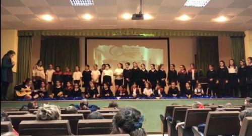 festival de navidad del colegio esclavas