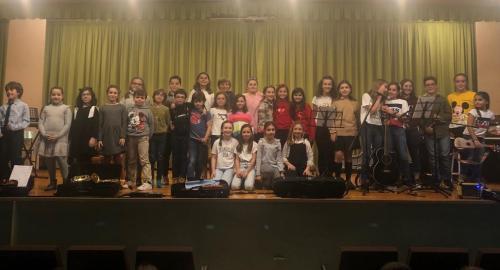 concierto de santa cecilia en el colegio esclavas